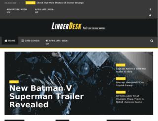 lingerdesk.com screenshot