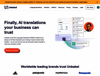 lingo24.com screenshot