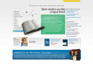 linguabrasil.com.br screenshot