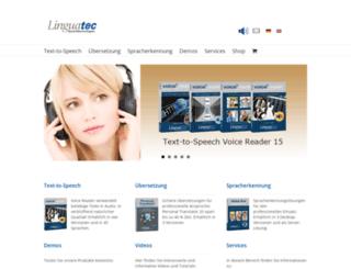 linguatec.net screenshot