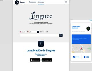 linguee.cl screenshot
