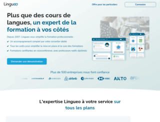 lingueo.fr screenshot