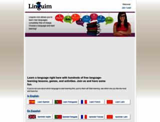 linguim.com screenshot