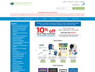 linguisystems.com screenshot