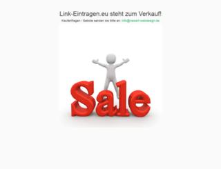 link-eintragen.eu screenshot