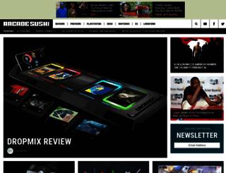 link.arcadesushi.com screenshot