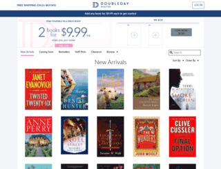link.doubledaybookclub.com screenshot