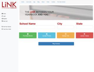 link.entourageyearbooks.com screenshot