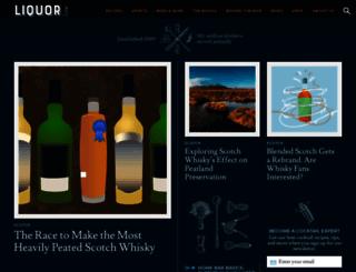 link.liquor.com screenshot