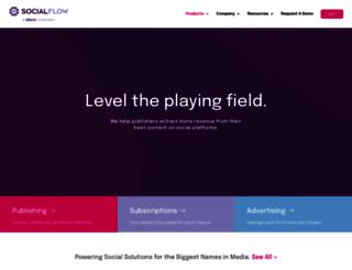 link.socialflow.com screenshot