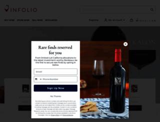 link.vinfolio.com screenshot