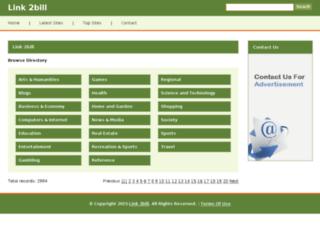 link2bill.com screenshot