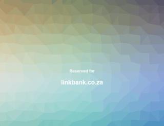 linkbank.co.za screenshot
