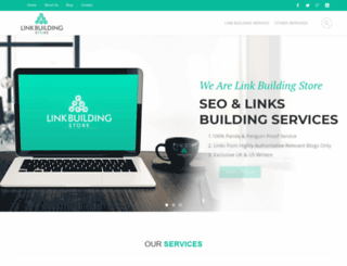 linkbuildingstore.com screenshot