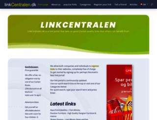 linkcentralen.dk screenshot