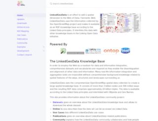 linkedgeodata.org screenshot