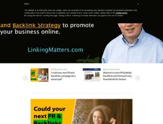 linkingmatters.com screenshot