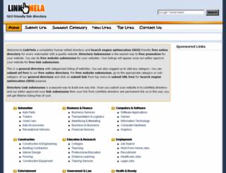 linkmela.com screenshot