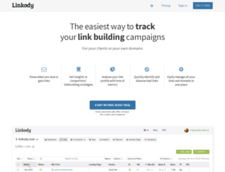 linkody.com screenshot