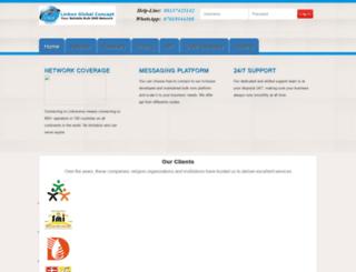linkonsms.com screenshot