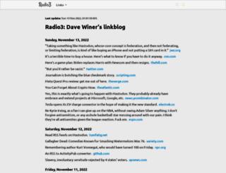 links.scripting.com screenshot