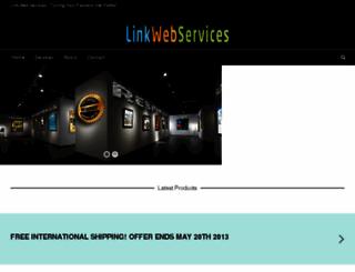linkwebservices.com screenshot