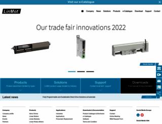 linmot.com screenshot
