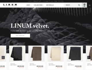 linumdesign.com screenshot