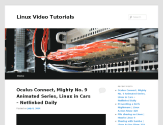 linux-video-tutorials.com screenshot