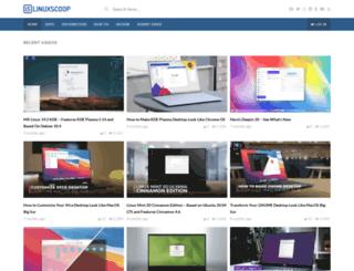 linuxscoop.com screenshot