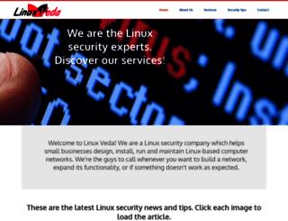 linuxveda.com screenshot