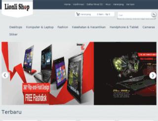 lionlishop.com screenshot