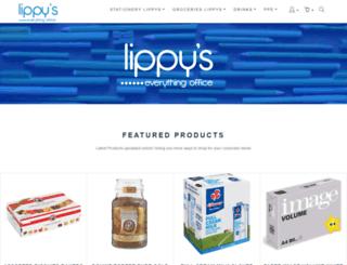 lippys.co.za screenshot