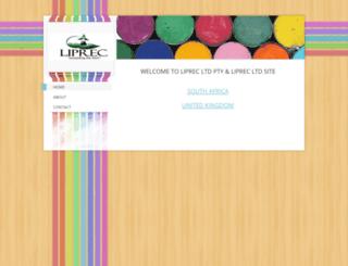liprec.weebly.com screenshot