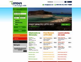 liptour.sk screenshot
