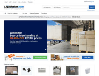 liquidation.com screenshot