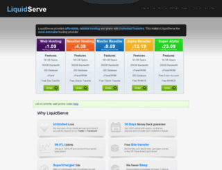 liquidserve.com screenshot
