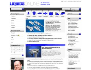liquidsonline.com screenshot