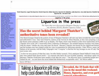 liquorice-licorice.co.uk screenshot