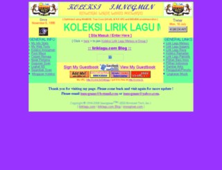 liriklagu.com screenshot