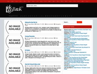 liriklagubatak.com screenshot
