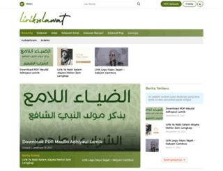 liriksolawat.com screenshot