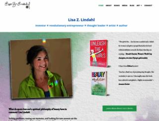 lisazlindahlonbeauty.com screenshot