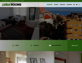 lisbonrooms.com screenshot