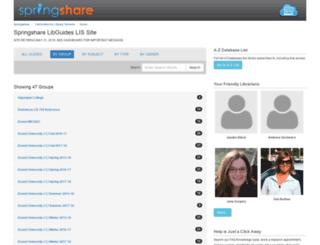 lisdemo.libguides.com screenshot