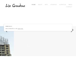 lisegrendene.com.br screenshot