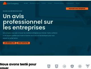 list-company.com screenshot