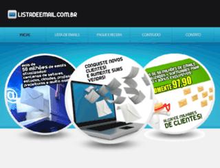 listadeemail.com.br screenshot