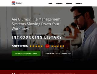 listary.com screenshot