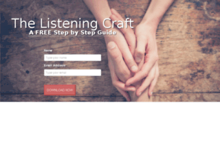 listeningcraft.theconnectioncrafts.com screenshot